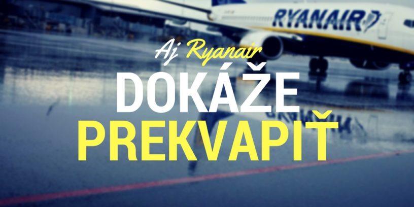 Ryanair zlepšuje svoje služby